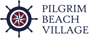 Pilgrim Beach Village - Logo